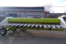 Хедер за слънчоглед - С дълги лифтери и изтеглящи валяци, Металагро, 6; 8; 10 и 12 реда SUNPROFI